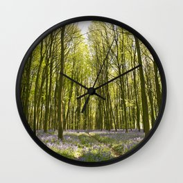 Passage through the Woods Wall Clock