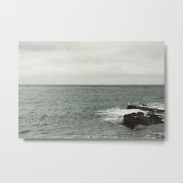 Watching the sea Metal Print