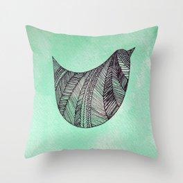 BURD Throw Pillow