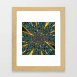 Fractal Abstract 44 Framed Art Print