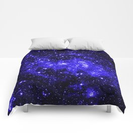 Chandra #1 Blue Comforters