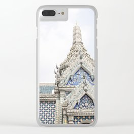 Painted Tiles in the Grand Palace Clear iPhone Case