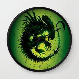 Evil bug Wall Clock