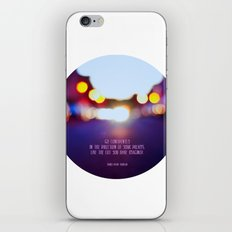 Live your dreams iPhone & iPod Skin