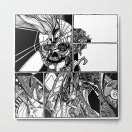 Sokushinbutsu Metal Print