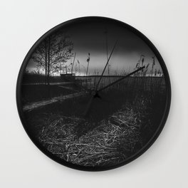 On the wrong side of the lake 11 Wall Clock