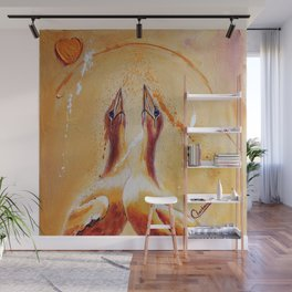 Crazy about you | Fou de toi Wall Mural