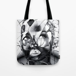WOMAN IN BLACK WHITE Tote Bag