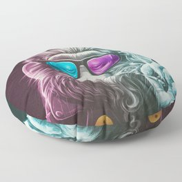 Smoky Floor Pillow