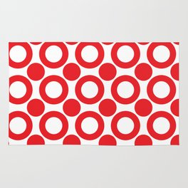 Dot 2 Red Rug