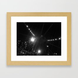 WHITEOUT : Light the Way Framed Art Print