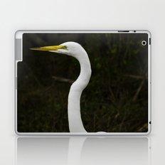 Great Egret Laptop & iPad Skin