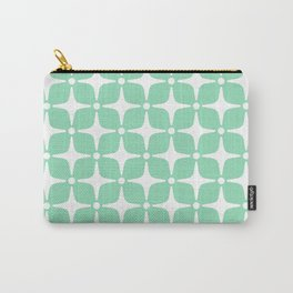 Mid Century Modern Star Pattern Mint Green 2 Carry-All Pouch
