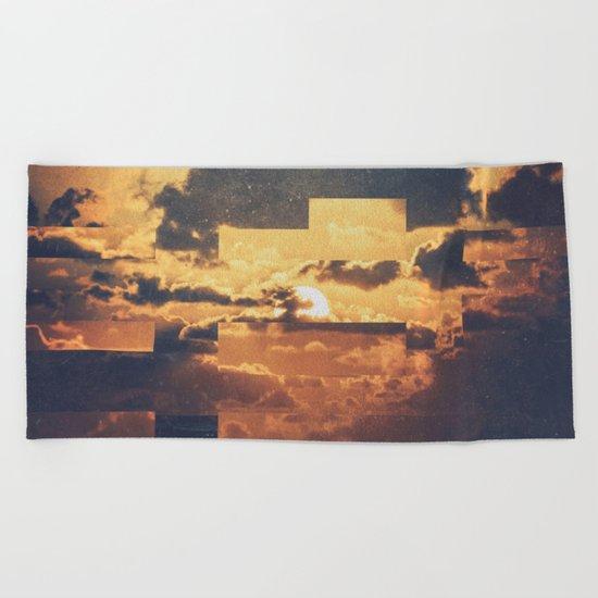 Fractions A44 Beach Towel