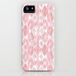 Harlequin Marble Mix Blush iPhone Case