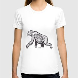 The Anatomy of a Pregnant Gorilla T-shirt