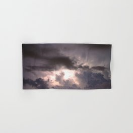 Night Explosions - V05 Hand & Bath Towel