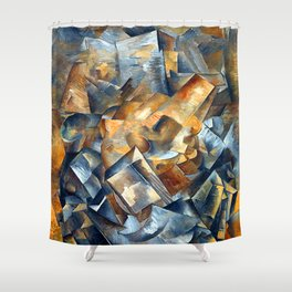 Georges Braque Still Life with Metronome Shower Curtain