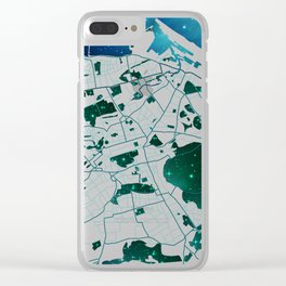Imagined City Clear iPhone Case