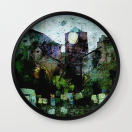 In the Castle Courtyard Wall Clock