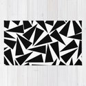 black triangle pattern by georgianaparaschiv