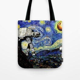Starry Night versus the Empire Tote Bag