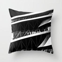 The Benz Throw Pillow
