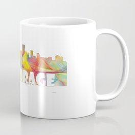 Anchorage, Alaska Skyline MCLR 2 Coffee Mug