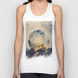 One mountain at a time Unisex Tank Top
