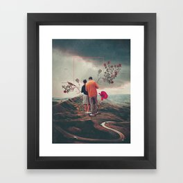 Chances & Changes Framed Art Print
