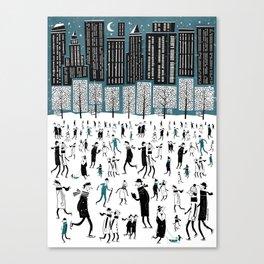 New York Skate of Mind Canvas Print
