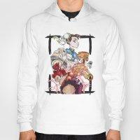street fighter Hoodies featuring Street Fighter by Mazuki Arts