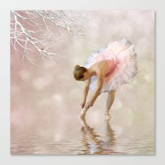 Dancer in Water Canvas Print