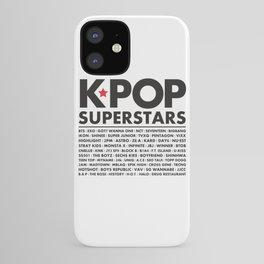 KPOP Superstars Original Boy Groups Merchandse iPhone Case