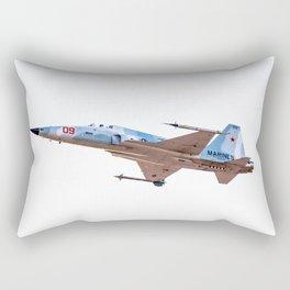 F-5E Adversary USMC MCAS YUMA Rectangular Pillow