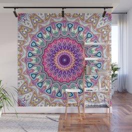 Colorful Ornate Mandala Wall Mural