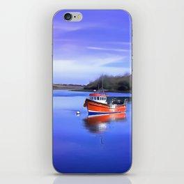 Whiterock Bay, Ireland. (Painting.) iPhone Skin