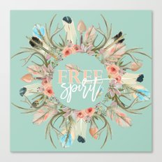 free spririt Canvas Print