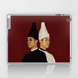 黑白无常 | Hei Bai Wu Chang | Black and White Impermanence Laptop & iPad Skin