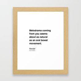 Clerks Quote 1 Framed Art Print