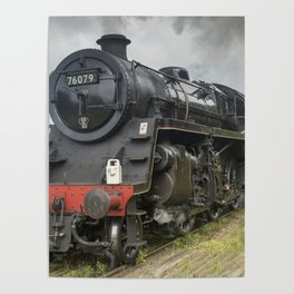 Beautiful steam train Poster