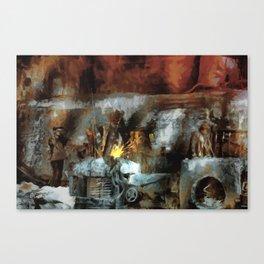 Iron Works Canvas Print