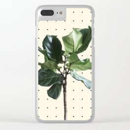 Home Ficus Clear iPhone Case