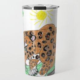 Indian Leopard Travel Mug