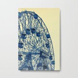 It's a Wonderful... Wheel. Metal Print