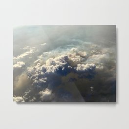 Where There's Smoke Metal Print