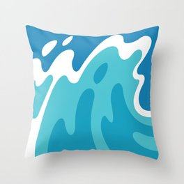 pacific #16 Throw Pillow