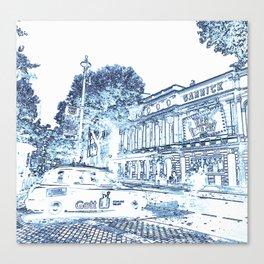 The Garrick Theatre, London Canvas Print