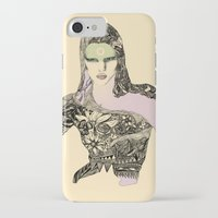 megan lara iPhone & iPod Cases featuring Lara by hyperpattern