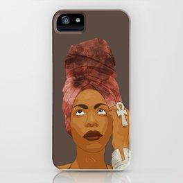 Erykah Badu, Brown iPhone Case